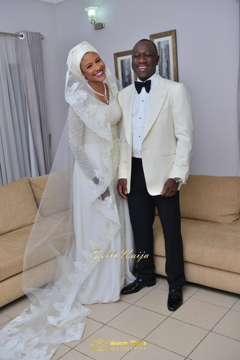 Maryam Augie & Abdulmumin Jibrin's Outdoor Abuja Wedding | George Okoro Photography | Nigerian Muslim Hausa Wedding 2014 | BellaNaija 0George Okoro-8992