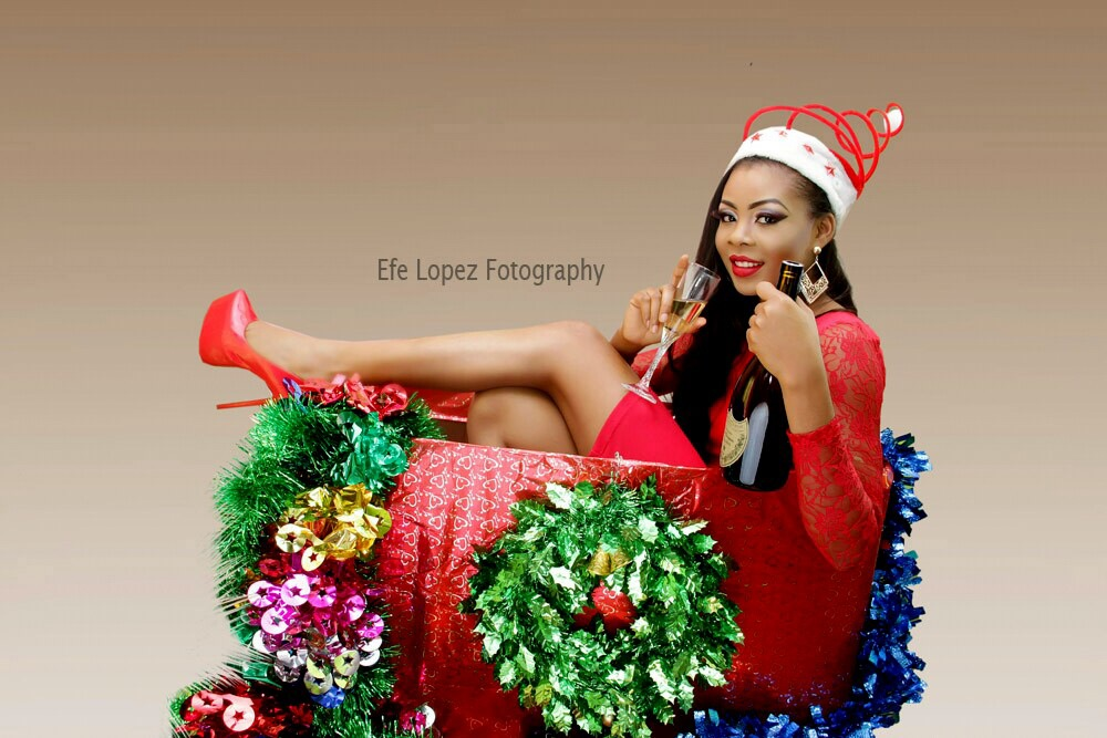 Check Out Miss Tourism Nigeria 2014's Colourful Christmas ...