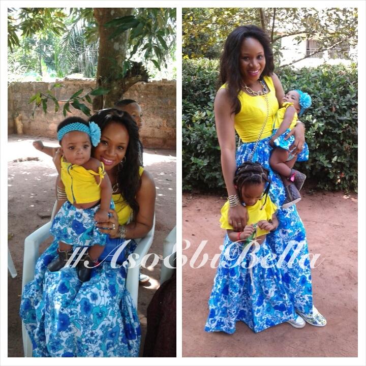 Mum with Ola & Envee
