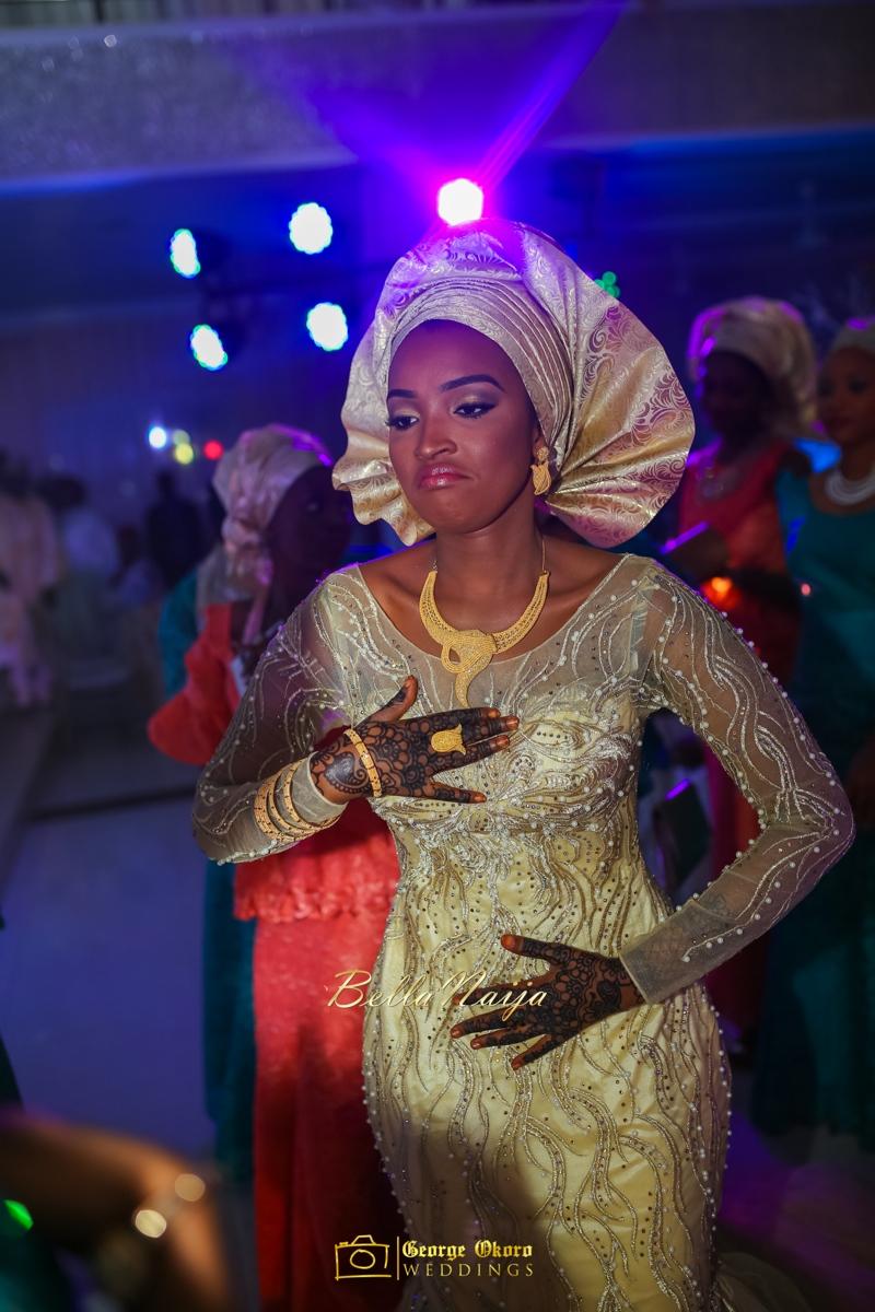 Muneerah & Umar | Kano - Hausa Muslim Nigerian Wedding - George Okoro Photography | BellaNaija |.George Okoro-102