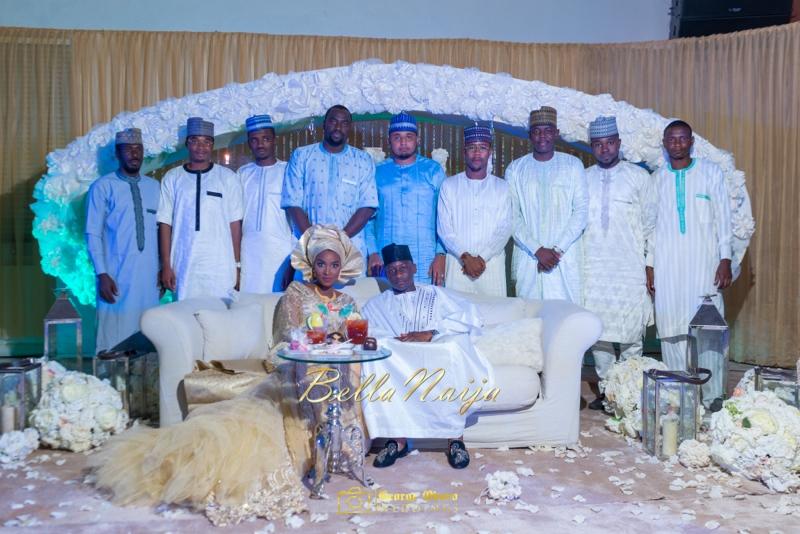 Muneerah & Umar | Kano - Hausa Muslim Nigerian Wedding - George Okoro Photography | BellaNaija |.George Okoro-109