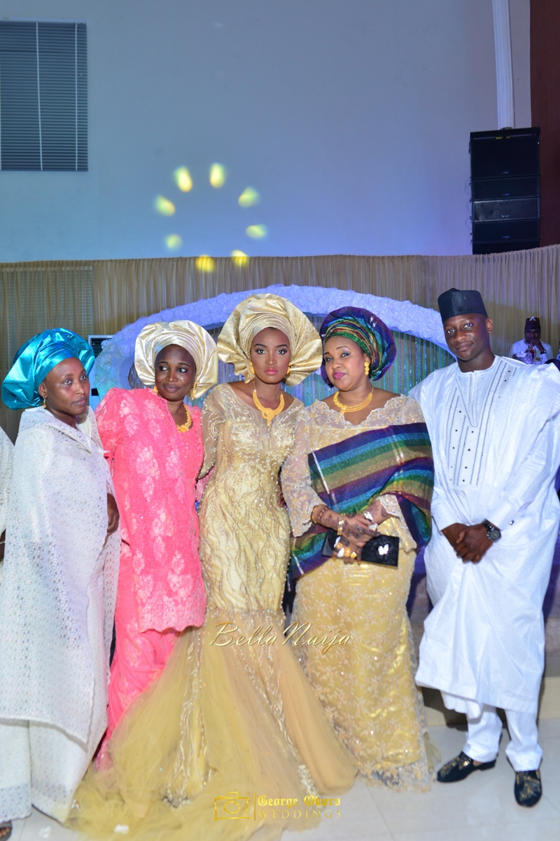 Muneerah & Umar | Kano - Hausa Muslim Nigerian Wedding - George Okoro Photography | BellaNaija |.George Okoro-117