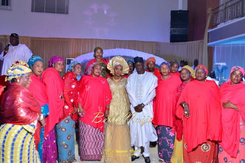 Muneerah & Umar | Kano - Hausa Muslim Nigerian Wedding - George Okoro Photography | BellaNaija |.George Okoro-119