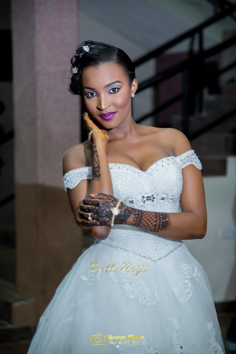 Muneerah & Umar | Kano - Hausa Muslim Nigerian Wedding - George Okoro Photography | BellaNaija |.George Okoro-12