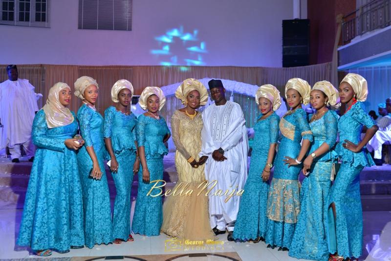 Muneerah & Umar | Kano - Hausa Muslim Nigerian Wedding - George Okoro Photography | BellaNaija |.George Okoro-124