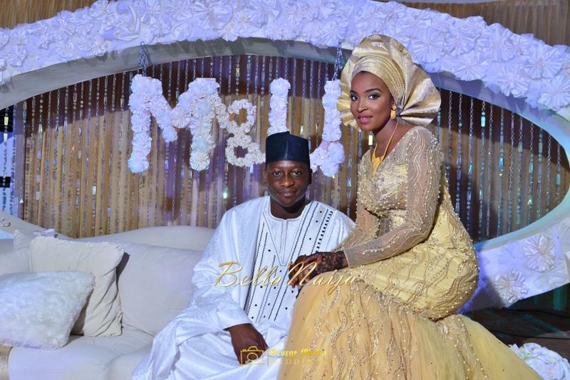 Muneerah & Umar | Kano - Hausa Muslim Nigerian Wedding - George Okoro Photography | BellaNaija |.George Okoro-127