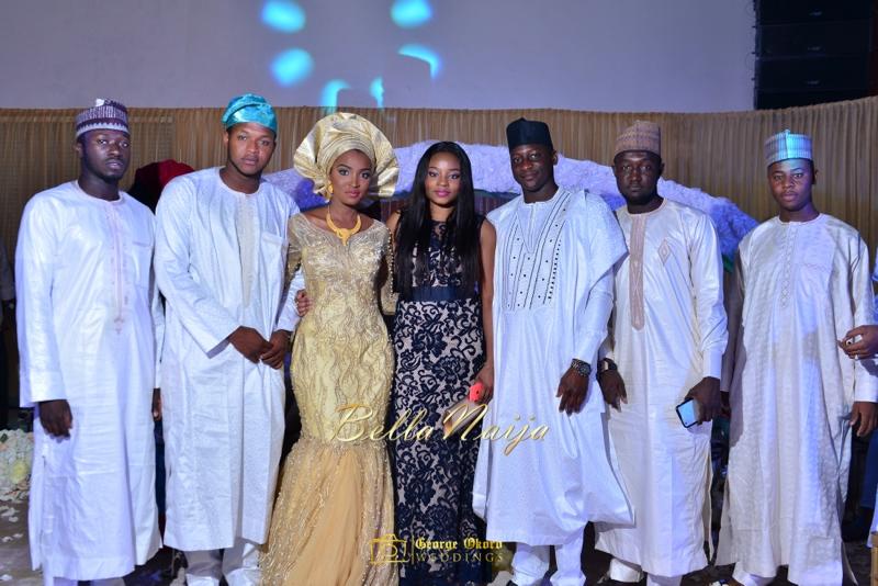 Muneerah & Umar | Kano - Hausa Muslim Nigerian Wedding - George Okoro Photography | BellaNaija |.George Okoro-134