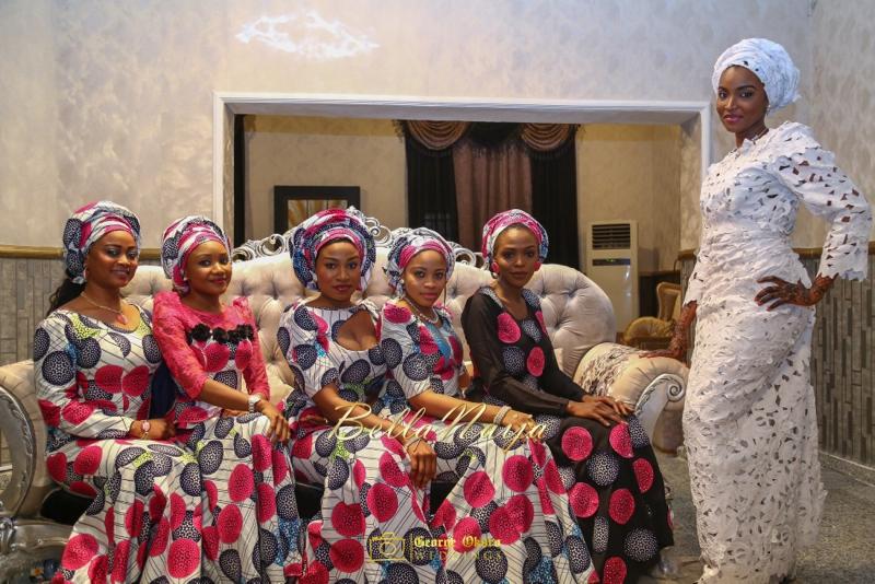 Muneerah & Umar | Kano - Hausa Muslim Nigerian Wedding - George Okoro Photography | BellaNaija |.George Okoro-14