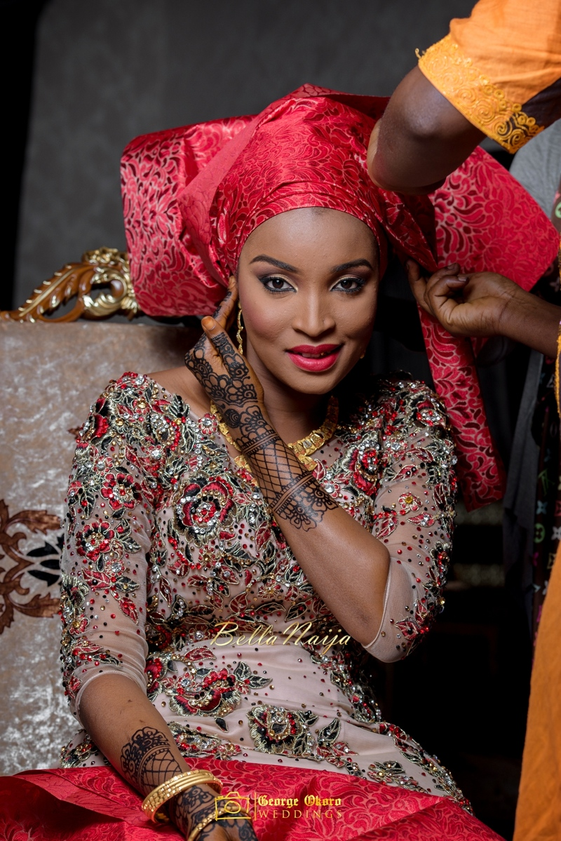 Muneerah & Umar | Kano - Hausa Muslim Nigerian Wedding - George Okoro Photography | BellaNaija |.George Okoro-15