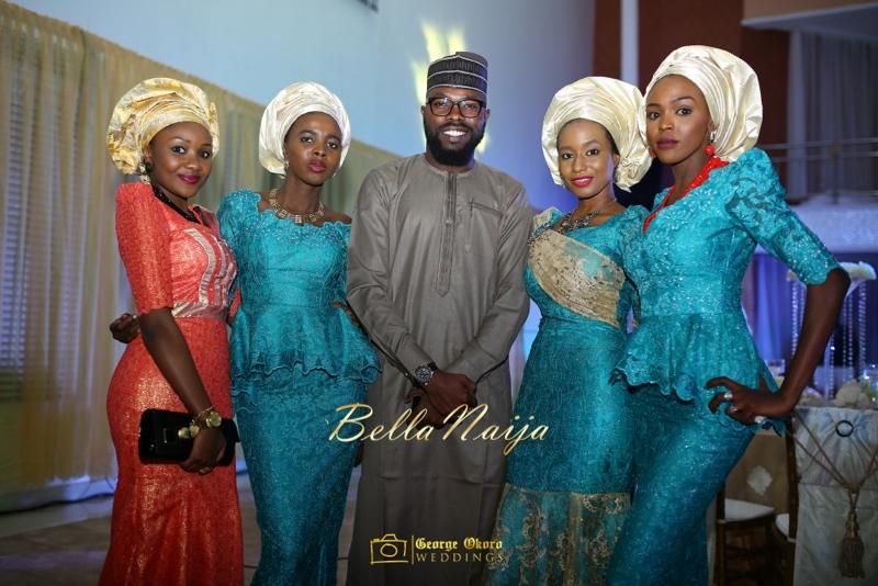 Muneerah & Umar | Kano - Hausa Muslim Nigerian Wedding - George Okoro Photography | BellaNaija |.George Okoro-151