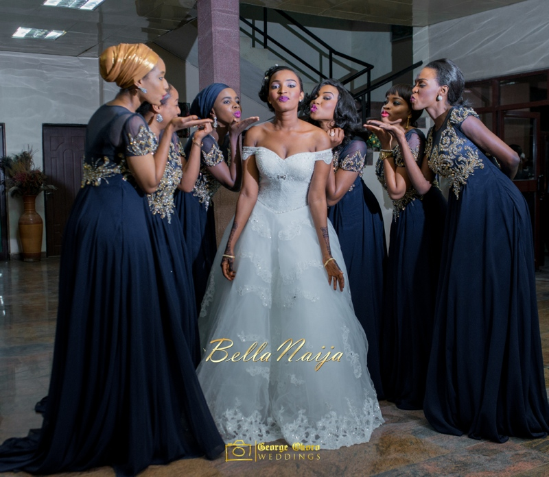 Muneerah & Umar | Kano - Hausa Muslim Nigerian Wedding - George Okoro Photography | BellaNaija |.George Okoro-17