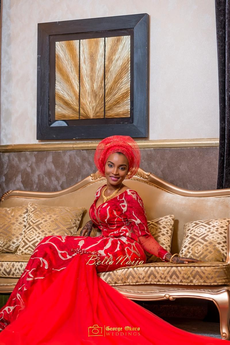 Muneerah & Umar | Kano - Hausa Muslim Nigerian Wedding - George Okoro Photography | BellaNaija |.George Okoro-26