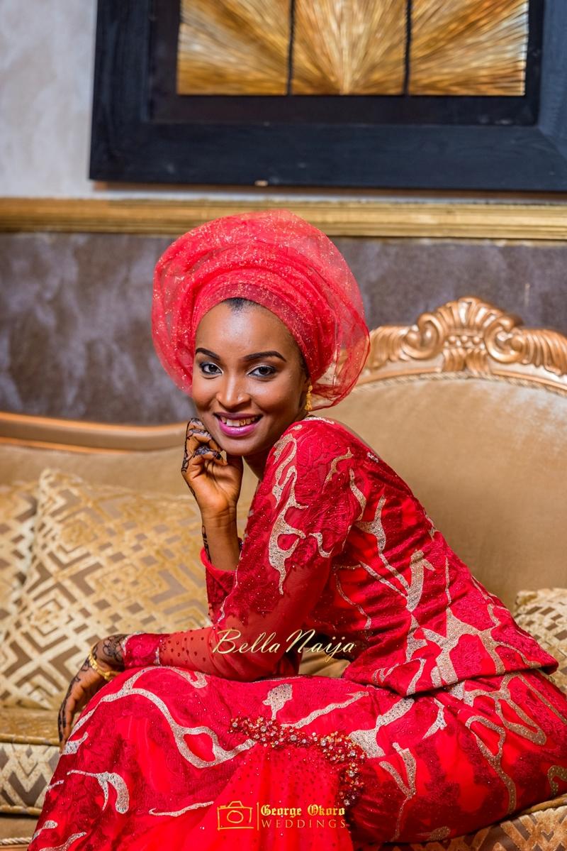 Muneerah & Umar | Kano - Hausa Muslim Nigerian Wedding - George Okoro Photography | BellaNaija |.George Okoro-28