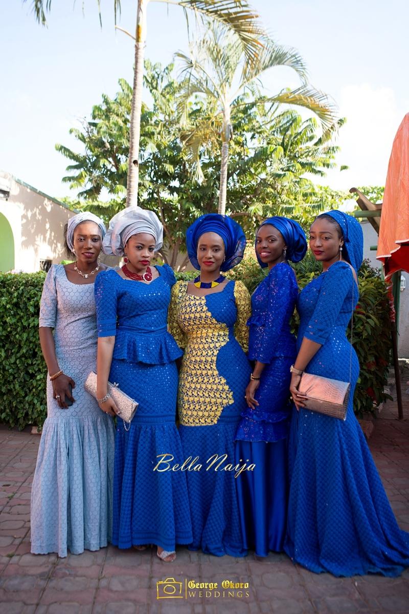 Muneerah & Umar | Kano - Hausa Muslim Nigerian Wedding - George Okoro Photography | BellaNaija |.George Okoro-29