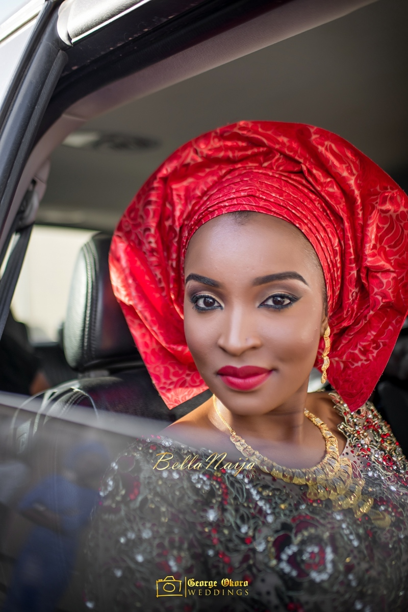Muneerah & Umar | Kano - Hausa Muslim Nigerian Wedding - George Okoro Photography | BellaNaija |.George Okoro-31
