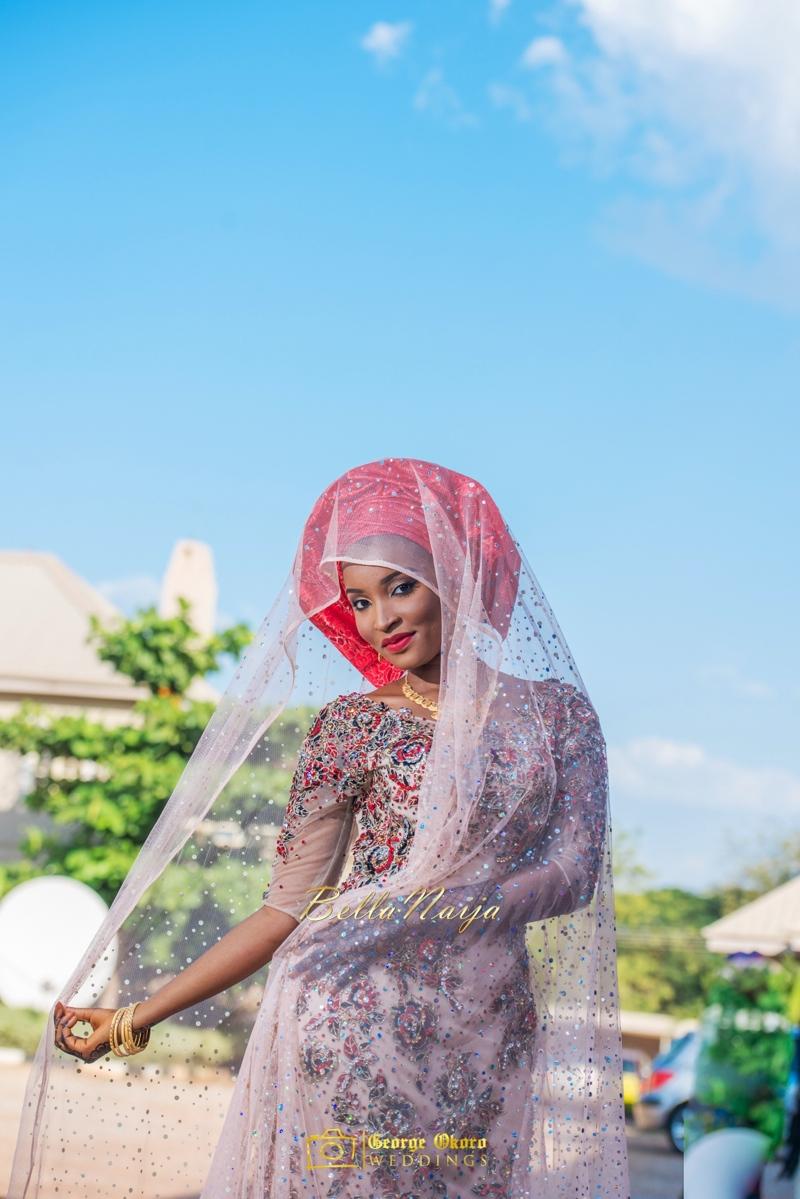 Muneerah & Umar | Kano - Hausa Muslim Nigerian Wedding - George Okoro Photography | BellaNaija |.George Okoro-34