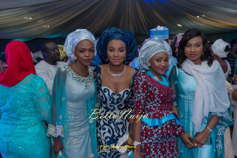Muneerah & Umar | Kano - Hausa Muslim Nigerian Wedding - George Okoro Photography | BellaNaija |.George Okoro-40