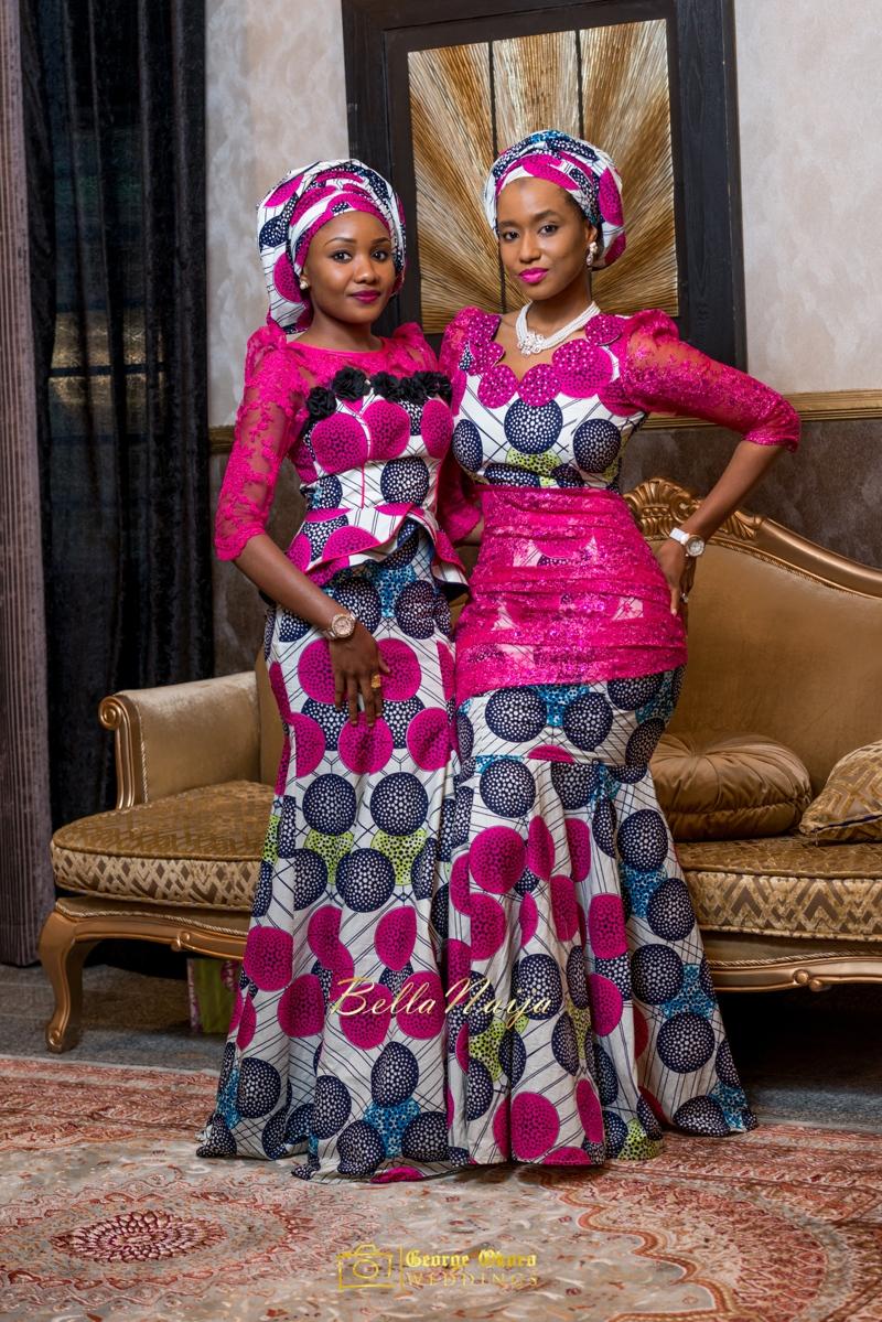 Muneerah & Umar | Kano - Hausa Muslim Nigerian Wedding - George Okoro Photography | BellaNaija |.George Okoro-41