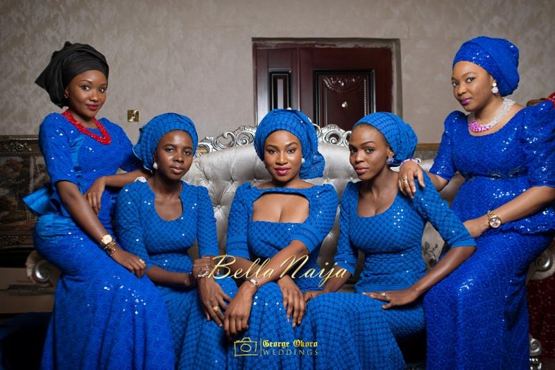 Muneerah & Umar | Kano - Hausa Muslim Nigerian Wedding - George Okoro Photography | BellaNaija |.George Okoro-4