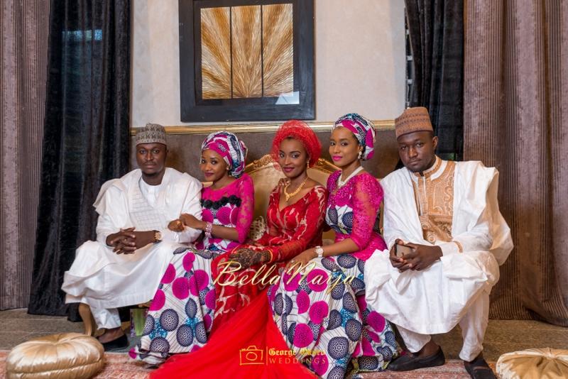Muneerah & Umar | Kano - Hausa Muslim Nigerian Wedding - George Okoro Photography | BellaNaija |.George Okoro-45