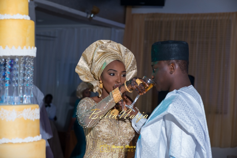 Muneerah & Umar | Kano - Hausa Muslim Nigerian Wedding - George Okoro Photography | BellaNaija |.George Okoro-46
