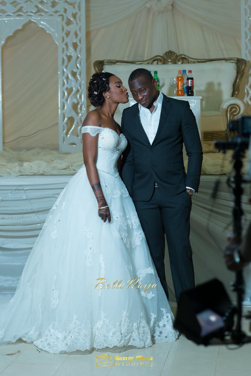 Muneerah & Umar | Kano - Hausa Muslim Nigerian Wedding - George Okoro Photography | BellaNaija |.George Okoro-48