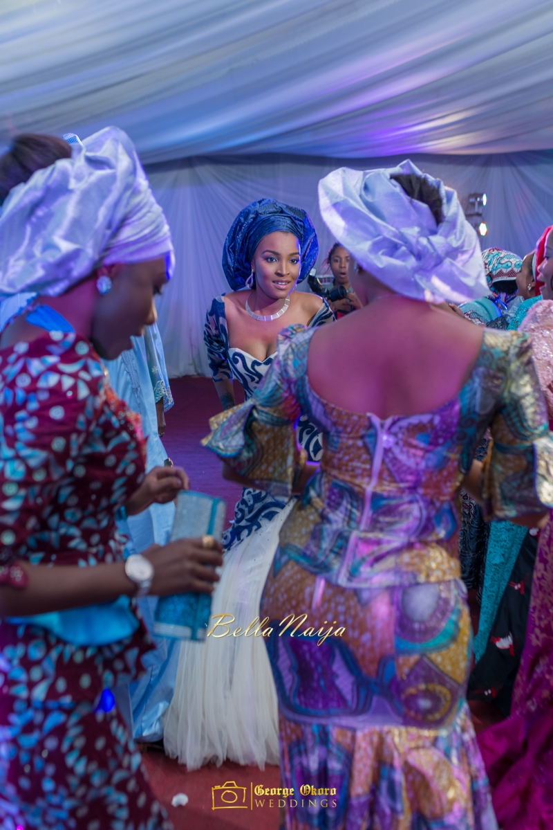 Muneerah & Umar | Kano - Hausa Muslim Nigerian Wedding - George Okoro Photography | BellaNaija |.George Okoro-50
