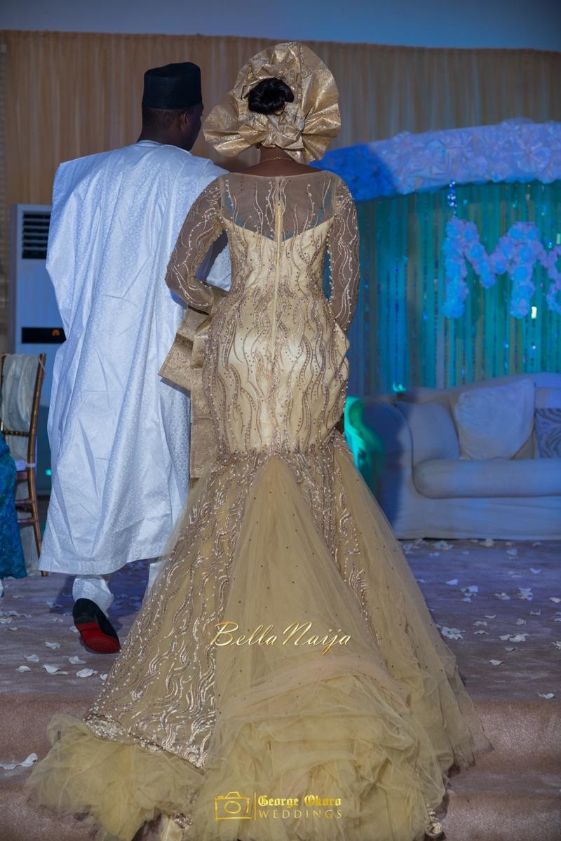 Muneerah & Umar | Kano - Hausa Muslim Nigerian Wedding - George Okoro Photography | BellaNaija |.George Okoro-51