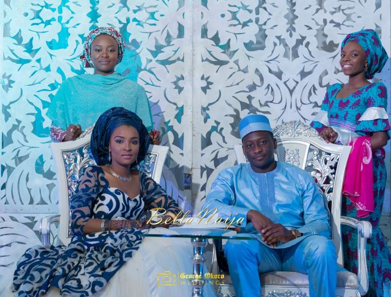 Muneerah & Umar | Kano - Hausa Muslim Nigerian Wedding - George Okoro Photography | BellaNaija |.George Okoro-59