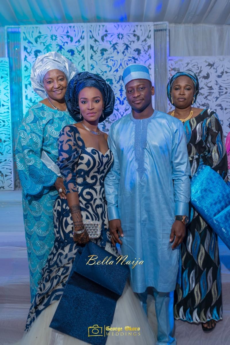 Muneerah & Umar | Kano - Hausa Muslim Nigerian Wedding - George Okoro Photography | BellaNaija |.George Okoro-62