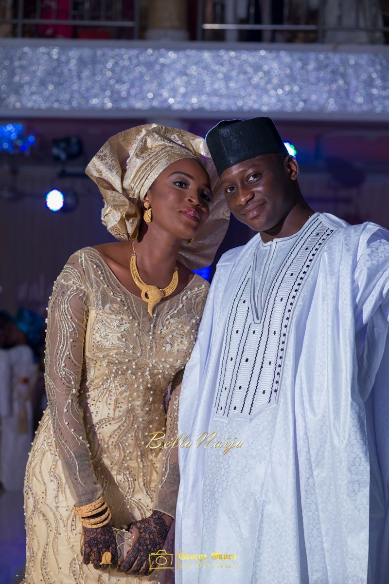 Muneerah & Umar | Kano - Hausa Muslim Nigerian Wedding - George Okoro Photography | BellaNaija |.George Okoro-63