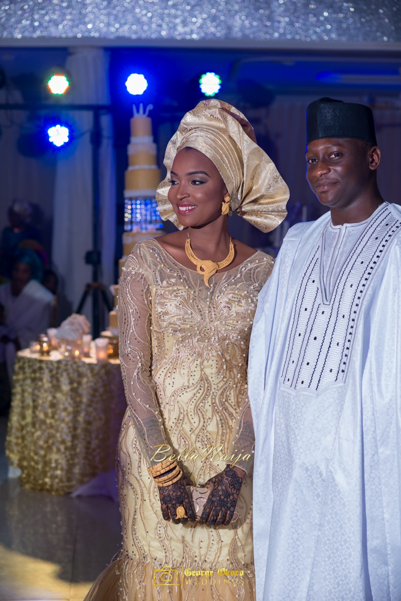 Muneerah & Umar | Kano - Hausa Muslim Nigerian Wedding - George Okoro Photography | BellaNaija |.George Okoro-65
