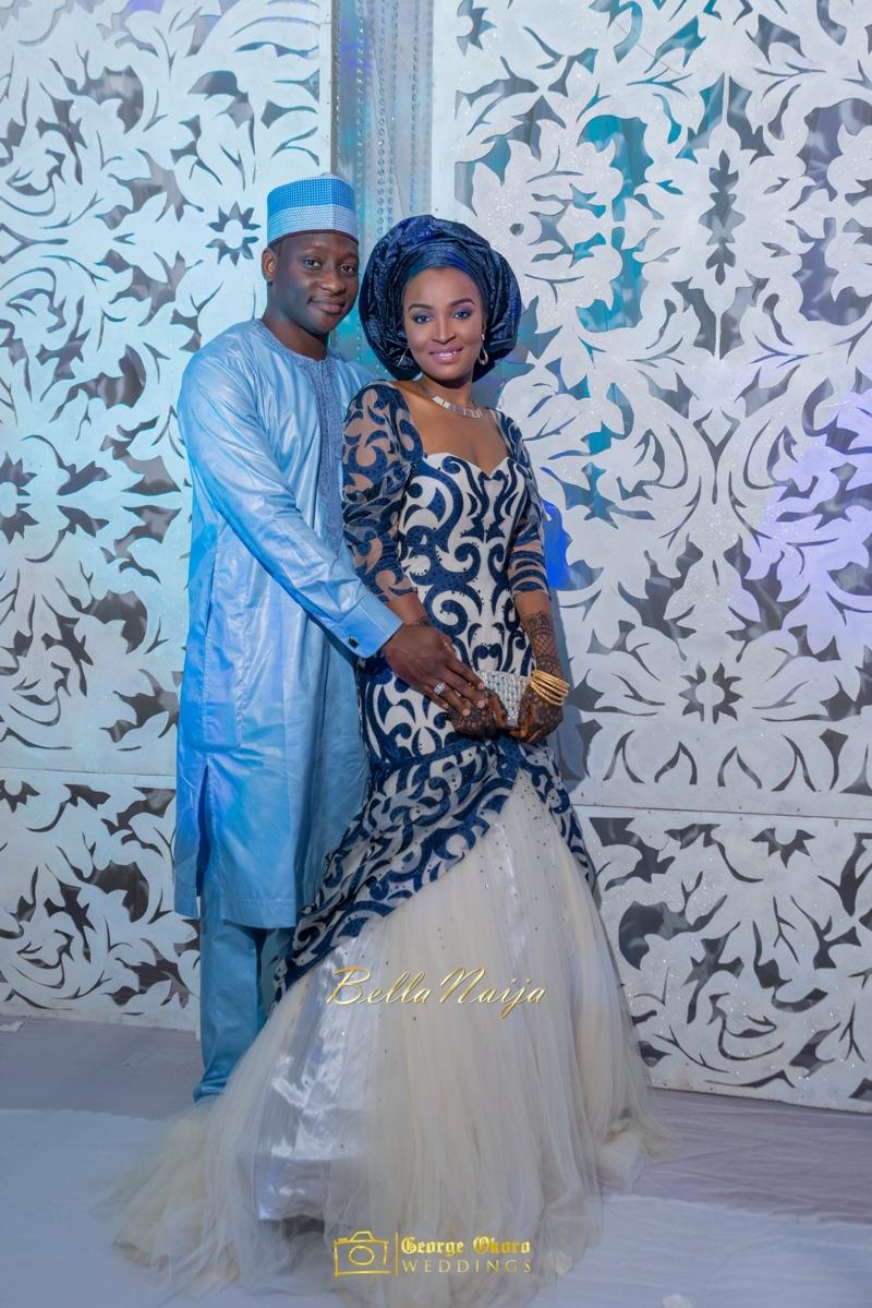 Muneerah & Umar | Kano - Hausa Muslim Nigerian Wedding - George Okoro Photography | BellaNaija |.George Okoro-66