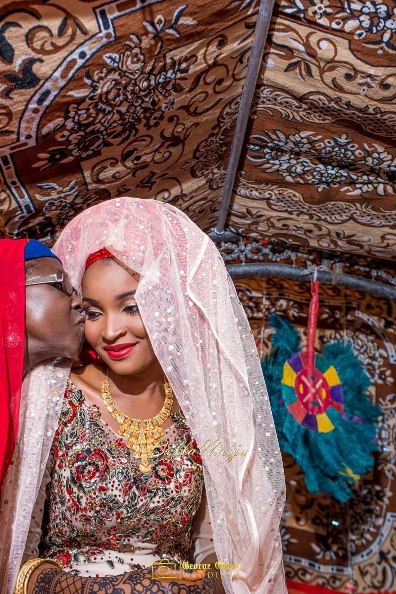 Muneerah & Umar | Kano - Hausa Muslim Nigerian Wedding - George Okoro Photography | BellaNaija |.George Okoro-70