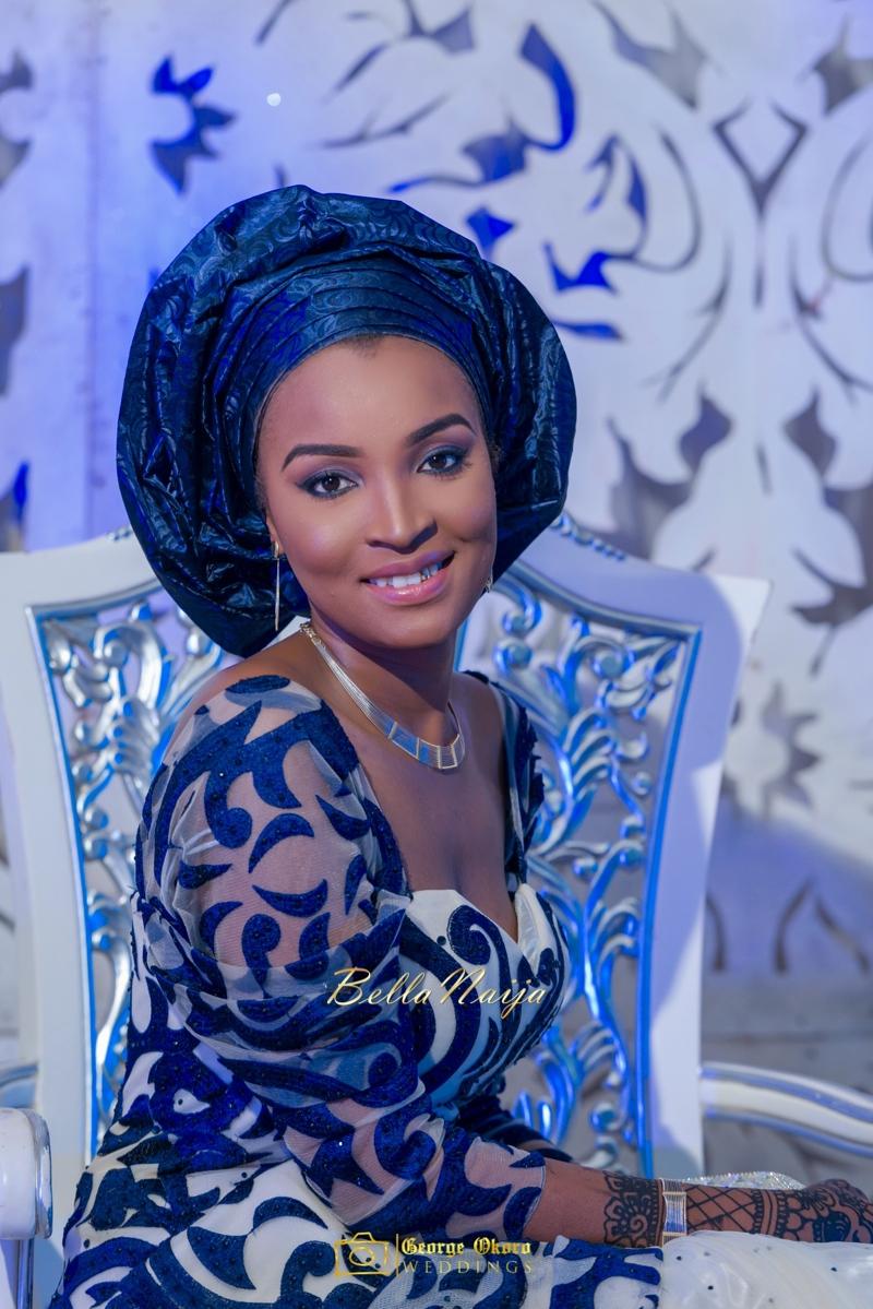 Muneerah & Umar | Kano - Hausa Muslim Nigerian Wedding - George Okoro Photography | BellaNaija |.George Okoro-71