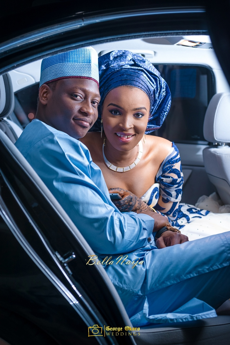 Muneerah & Umar | Kano - Hausa Muslim Nigerian Wedding - George Okoro Photography | BellaNaija |.George Okoro-78