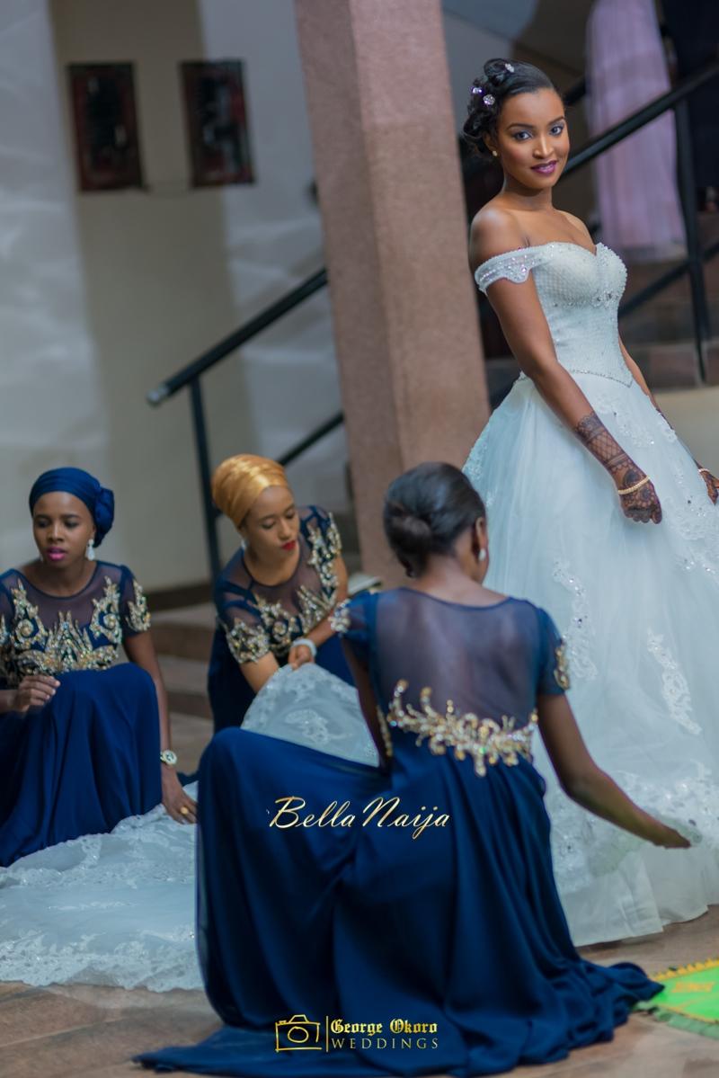 Muneerah & Umar | Kano - Hausa Muslim Nigerian Wedding - George Okoro Photography | BellaNaija |.George Okoro-8