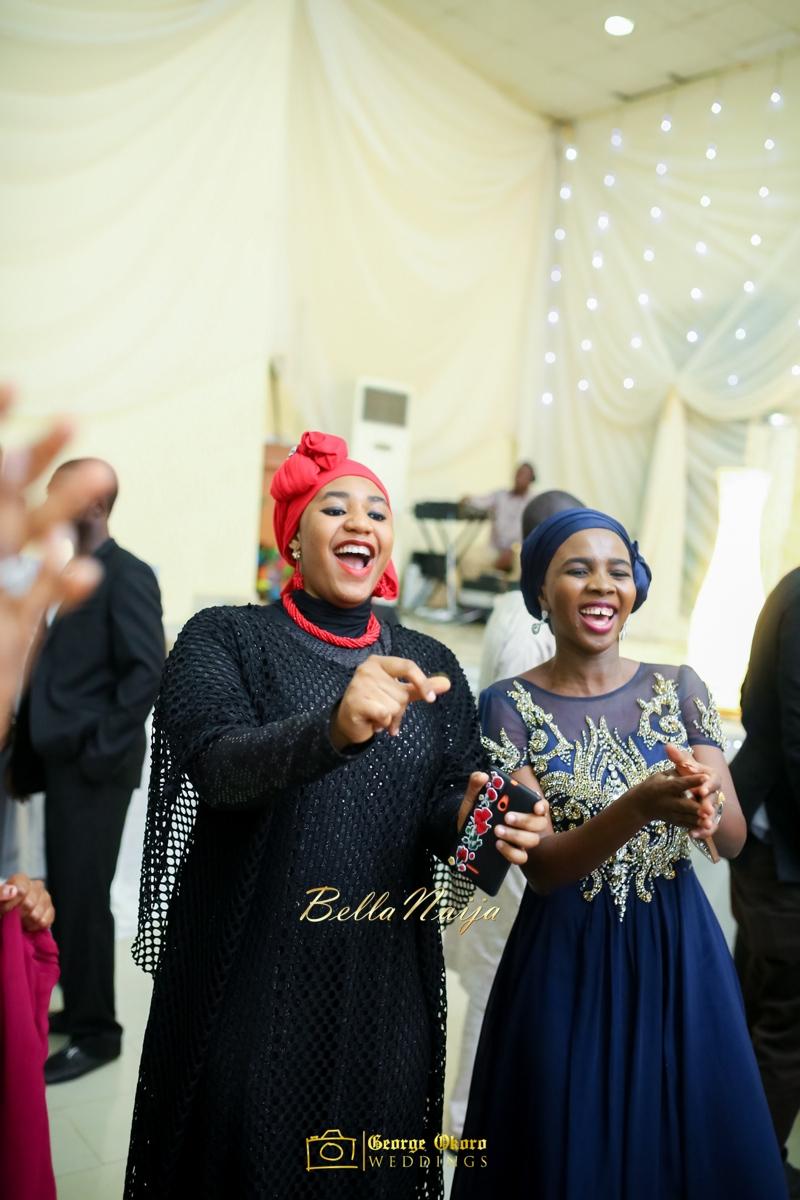 Muneerah & Umar | Kano - Hausa Muslim Nigerian Wedding - George Okoro Photography | BellaNaija |.George Okoro-86