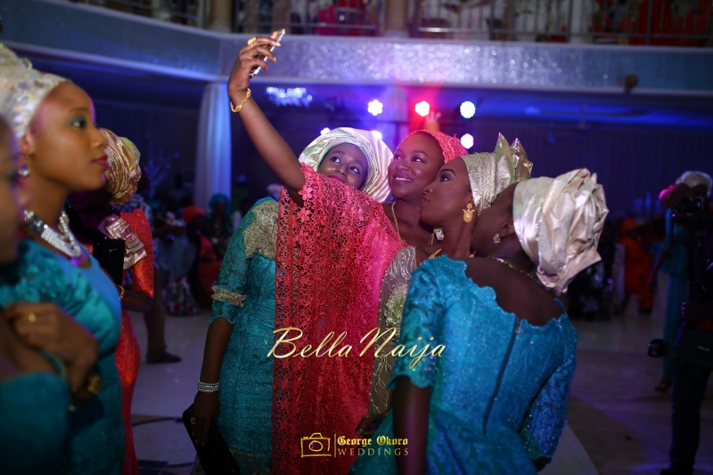 Muneerah & Umar | Kano - Hausa Muslim Nigerian Wedding - George Okoro Photography | BellaNaija |.George Okoro-88