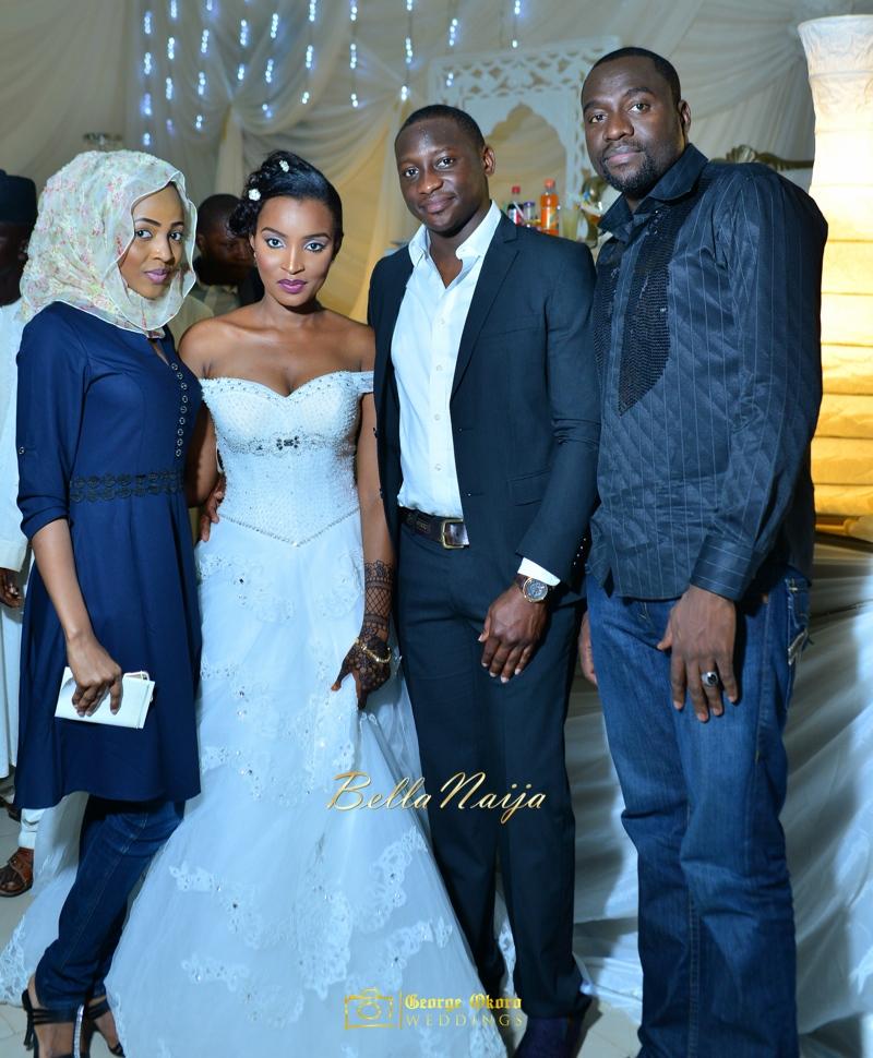 Muneerah & Umar | Kano - Hausa Muslim Nigerian Wedding - George Okoro Photography | BellaNaija |.George Okoro-91