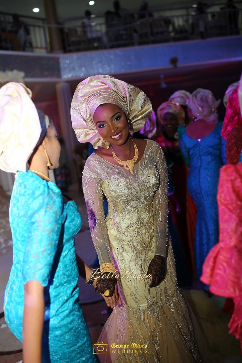 Muneerah & Umar | Kano - Hausa Muslim Nigerian Wedding - George Okoro Photography | BellaNaija |.George Okoro-92
