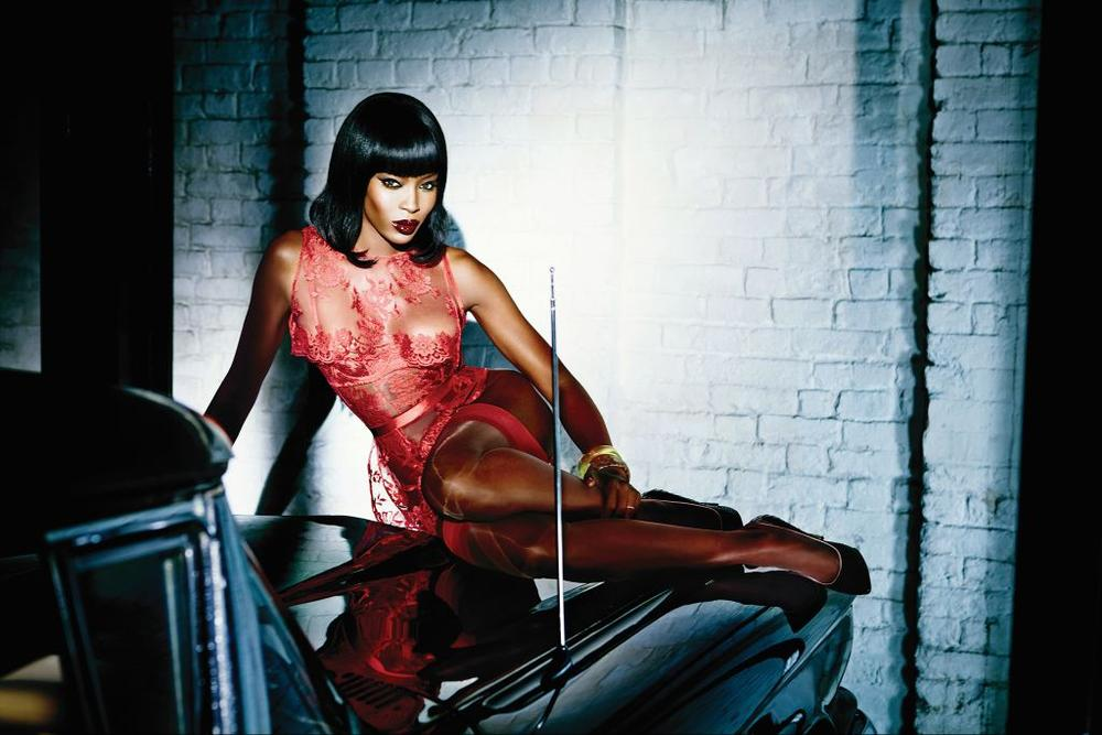 Naomi Campbell Face of Agent Provocateur - BellaNaija - December 2014001