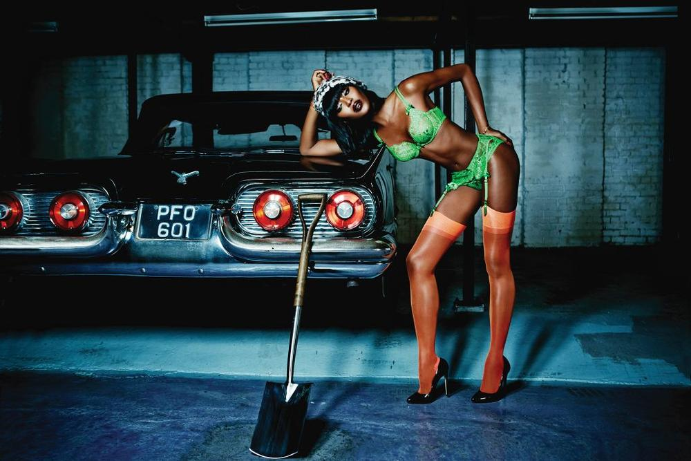 Naomi Campbell Face of Agent Provocateur - BellaNaija - December 2014003