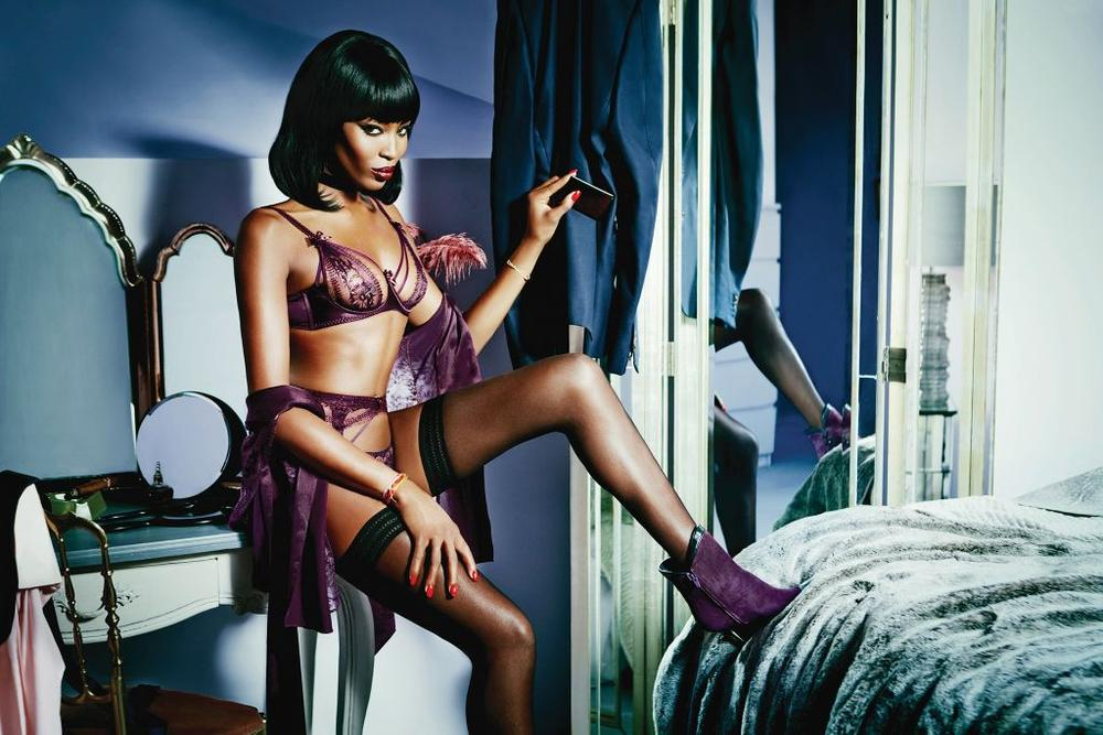 Naomi Campbell Face of Agent Provocateur - BellaNaija - December 2014005