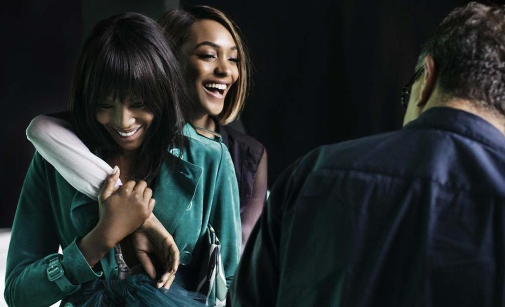 Naomi Campbell anf Jourdann Dunn for Burberry SS15 Campaign - BellaNaija - December 2014001