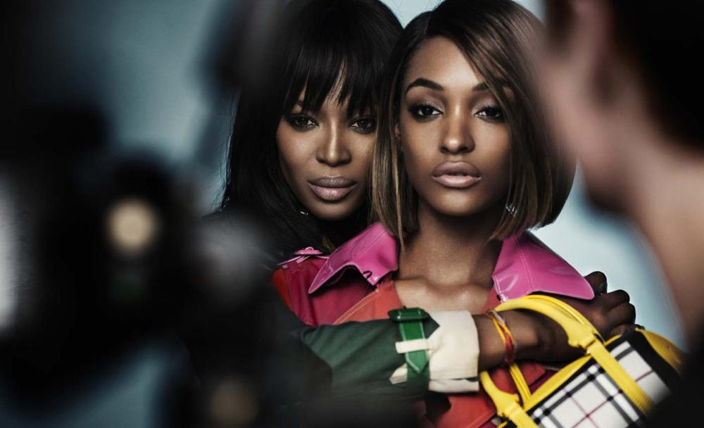 Naomi Campbell anf Jourdann Dunn for Burberry SS15 Campaign - BellaNaija - December 2014002
