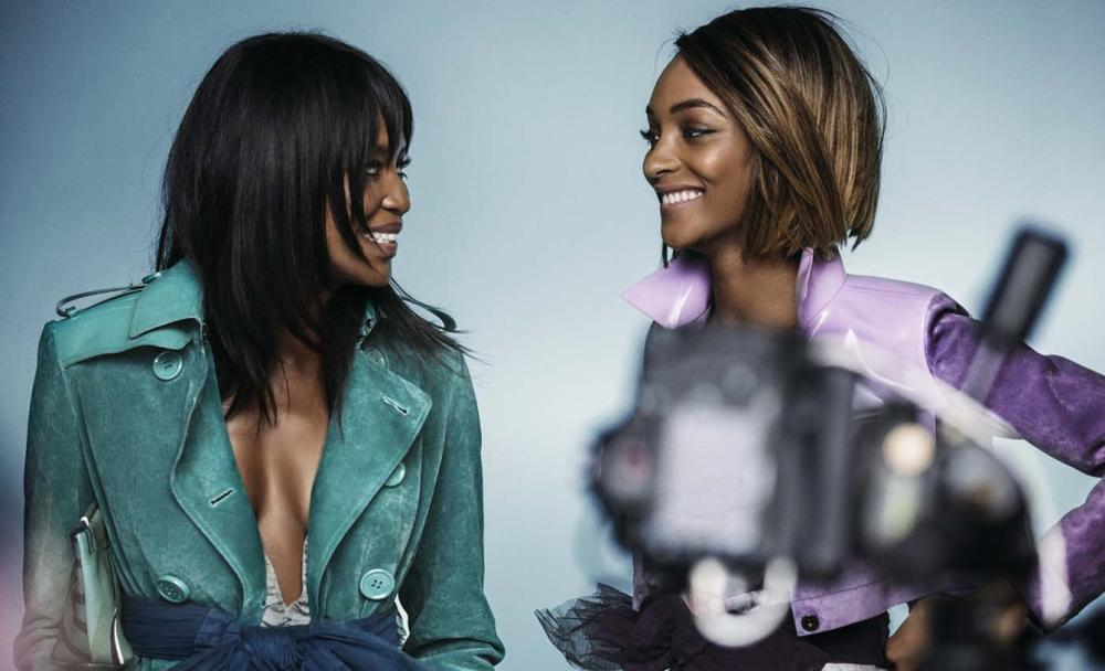Naomi Campbell anf Jourdann Dunn for Burberry SS15 Campaign - BellaNaija - December 2014003