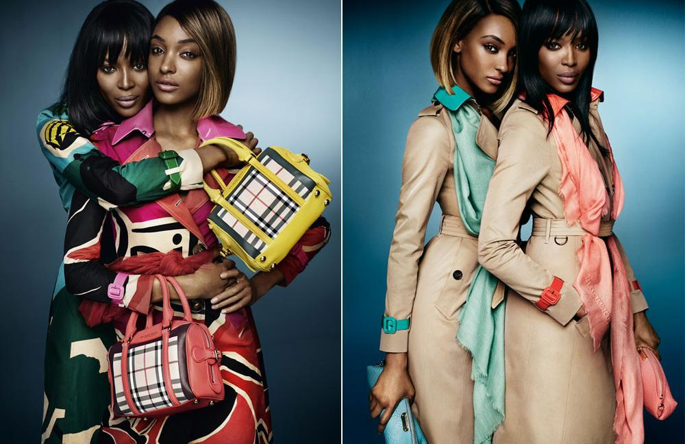 Naomi Campbell anf Jourdann Dunn for Burberry SS15 Campaign - BellaNaija - December 2014006