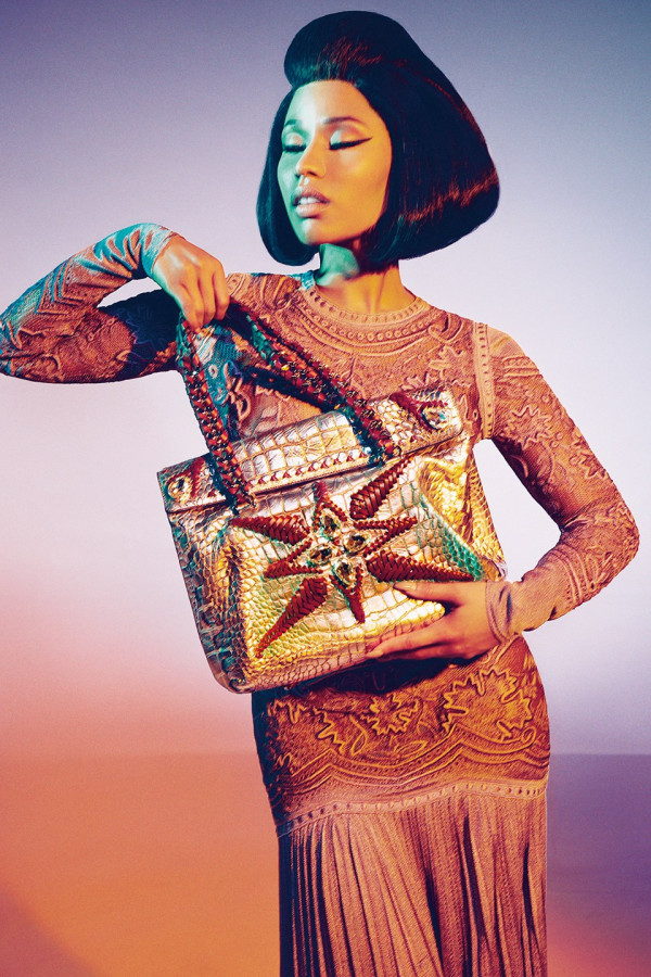 Nicki Minaj for Roberto Cavali SS2015 Campaign - BellaNaija - December 2014002