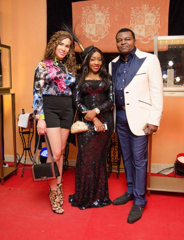 Caroline Danjuma, Jennifer Obayuwana & Danjuma